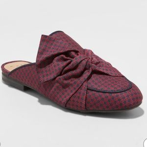 A New Day Bow Backless Mules